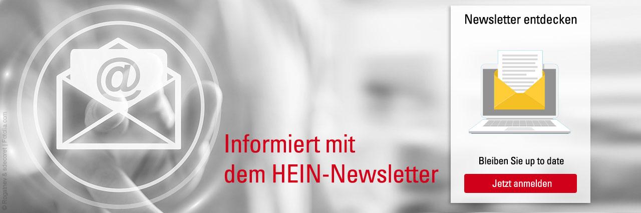Melden Sie sich zum kosten losen Newsletter an und bleiben Sie informiert.