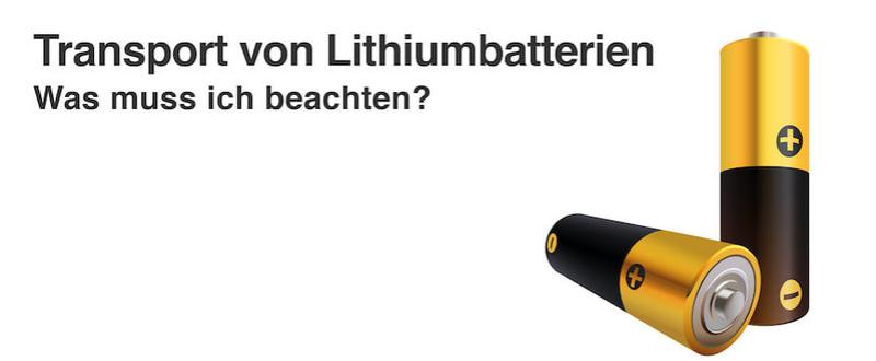 Neue Anforderungen an den Lithiumbatterien-Transport | kroschke.at