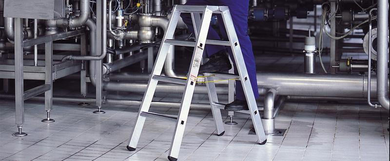 Leitern sicher benutzen
