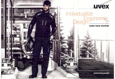 """Neue Uvex Serie """"new worker"""" im Shop!"""