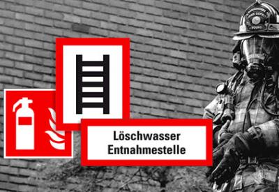 Jede Sekunde zählt! Kennzeichnung für Brandschutz- und Feuerwehreinrichtungen