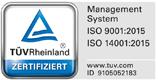 Wir sind ISO-zertifiziert